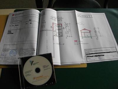 Bauakte auf CD 1