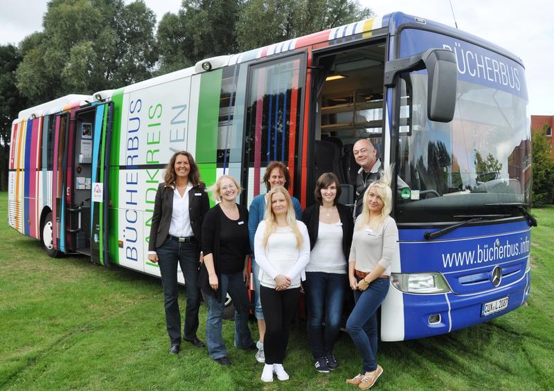 Der Bücherbus hält ab Januar auch in Beverstedt und Cadenberge