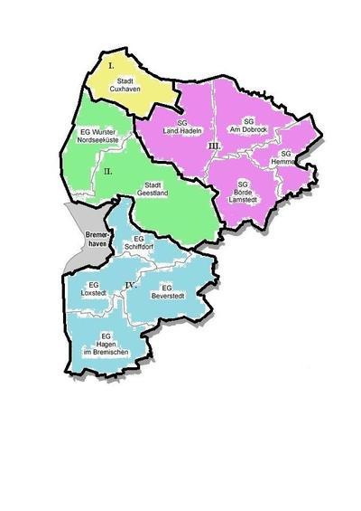 Wahlbereiche 2016
