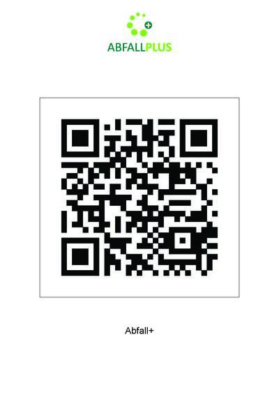 Abfall App QR-Code