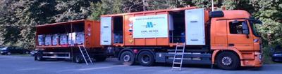 Schadstoffmobil der Firma Karl-Meyer