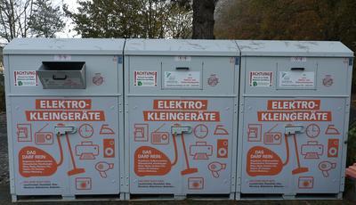 Elektronikgeräte-Sammelcontainer