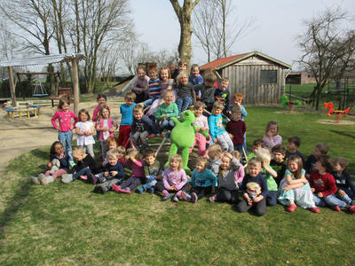 Knud im Kindergarten