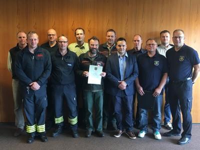 Waldbrandbeauftragte u. Feuerwehrvertreter 2018